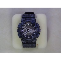 Numerical and analogical watch for men - Black and Blue