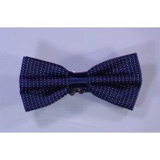 Bow tie - Blue with white points
