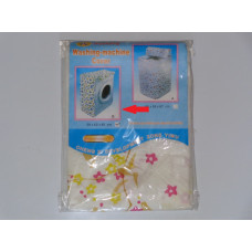 Washing machine cover with flowers