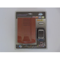 Water Resistant Wireless Doorbell - Brown