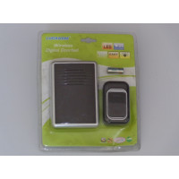Black Rectangular Wireless Doorbell