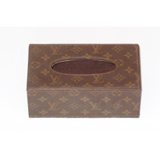 LV Tissue Holder - Brown